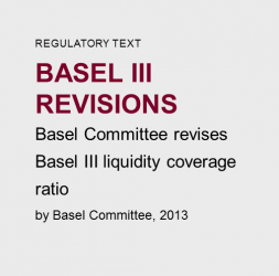 Basel  III  Revisions