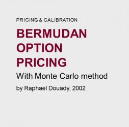 Bermudan  option  pricing