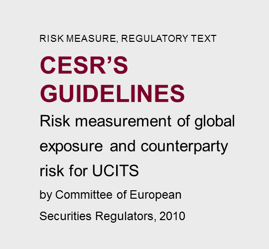 CESR'S  GUIDELINES