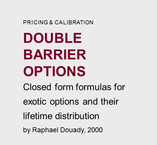 Double  barrier  options