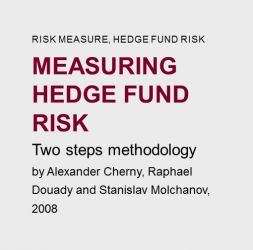 Measuring  Hedge  fund  risk