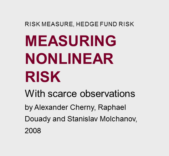 Measuring  nonlinear  risk