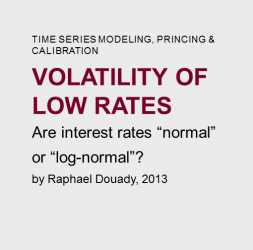 Volatility  of  low  rates