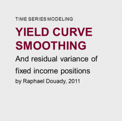 Yield  curve  smoothing